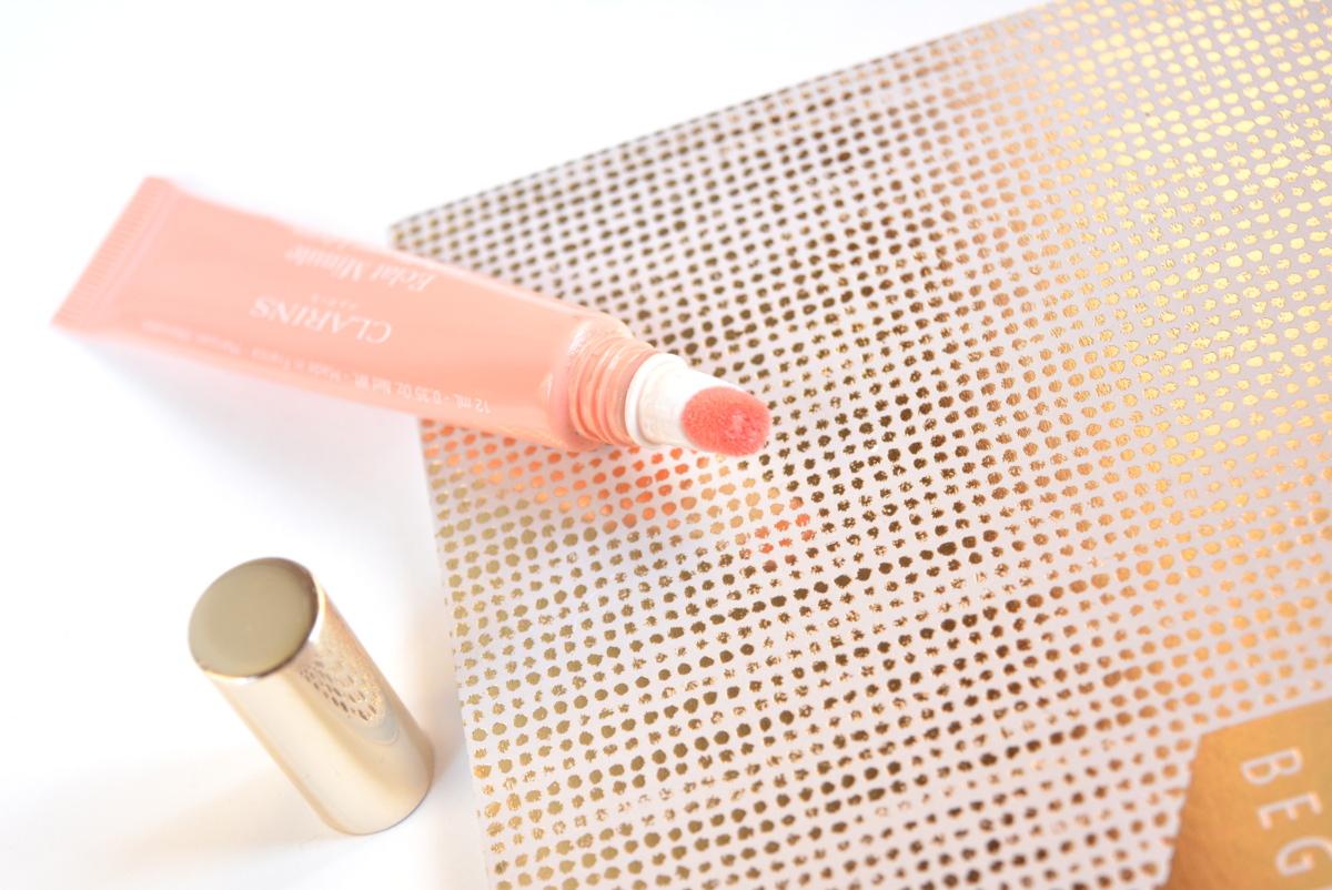 Clarins Natural Lip Perfector Apricot Shimmer