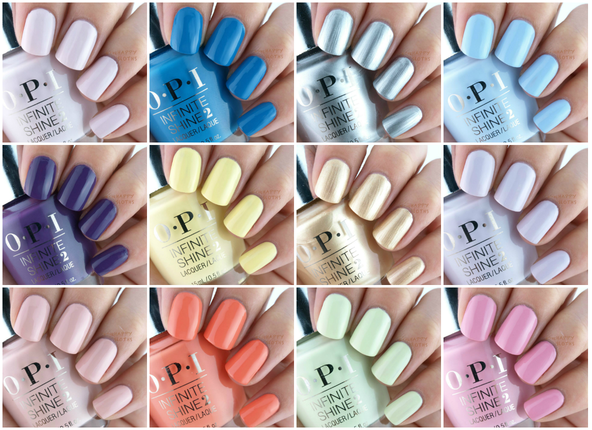 OPI Infinite Shine Summer 2015 Collection: Review and Swatches