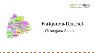 Nalgonda District with Mandals