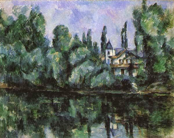 As Margens do Marne - Paul Cézanne e suas principais pinturas ~ O fundador da Arte Moderna