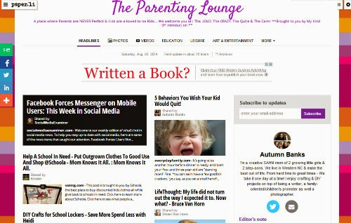 The Parenting Lounge - Online Newspaper