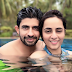 Hussain Kuwajerwala chilling out in Goa with wife Tina