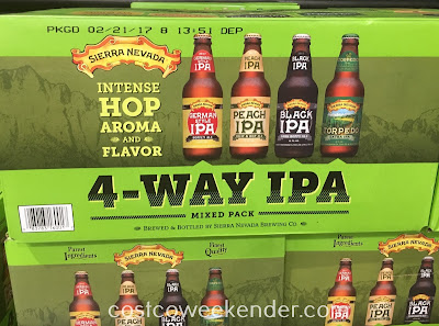 Sierra Nevada 4-way IPA Mixed Pack - Great tasting, flavorful