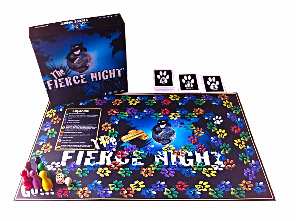 Coleccion De Juegos The Fierce Night Juego De Mesa Para Fiestas De