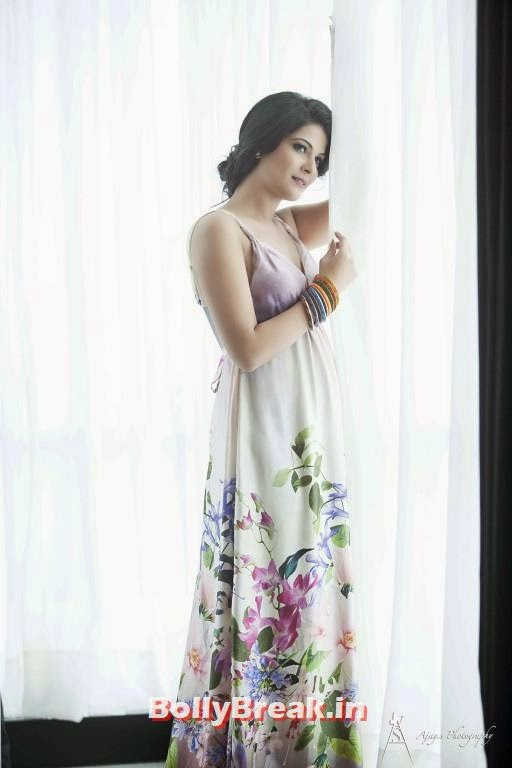 , Manisha Sri - Tollywood Heroine Images in Nighty & Maxi Dress