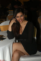 Kyra Dutta in black At Rogue Movie Audio Launch ~  077.JPG