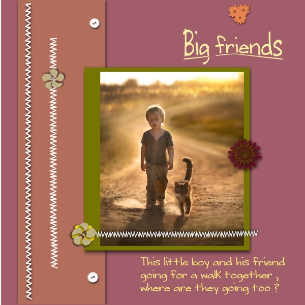 Oct.2016 - Big friends..