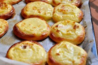 шаньги картофельные из дрожжевого теста