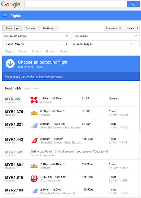 Find Cheapest Flight Tickets Using Google Flights