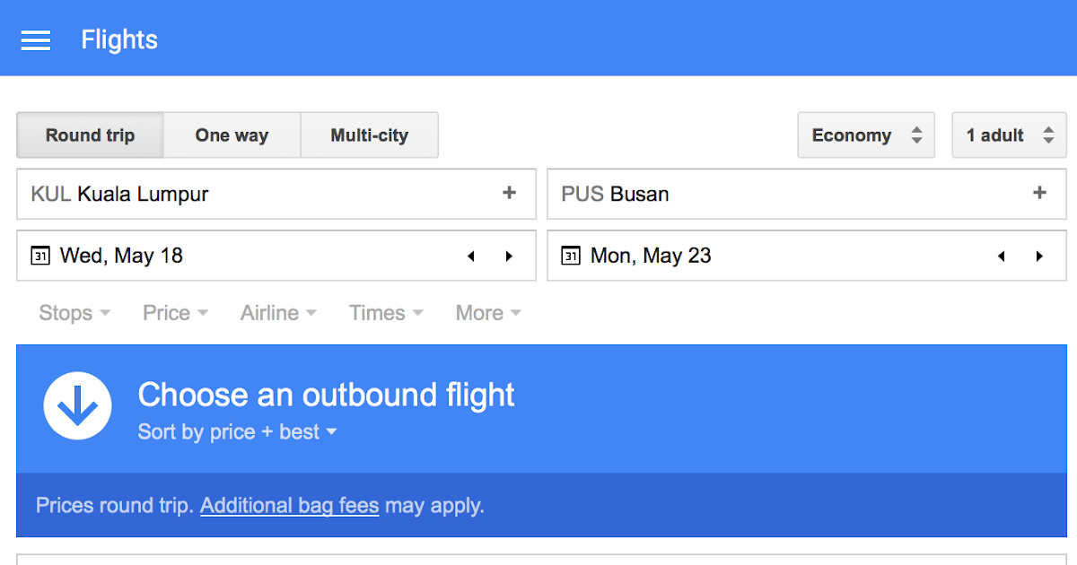 flight tickets google