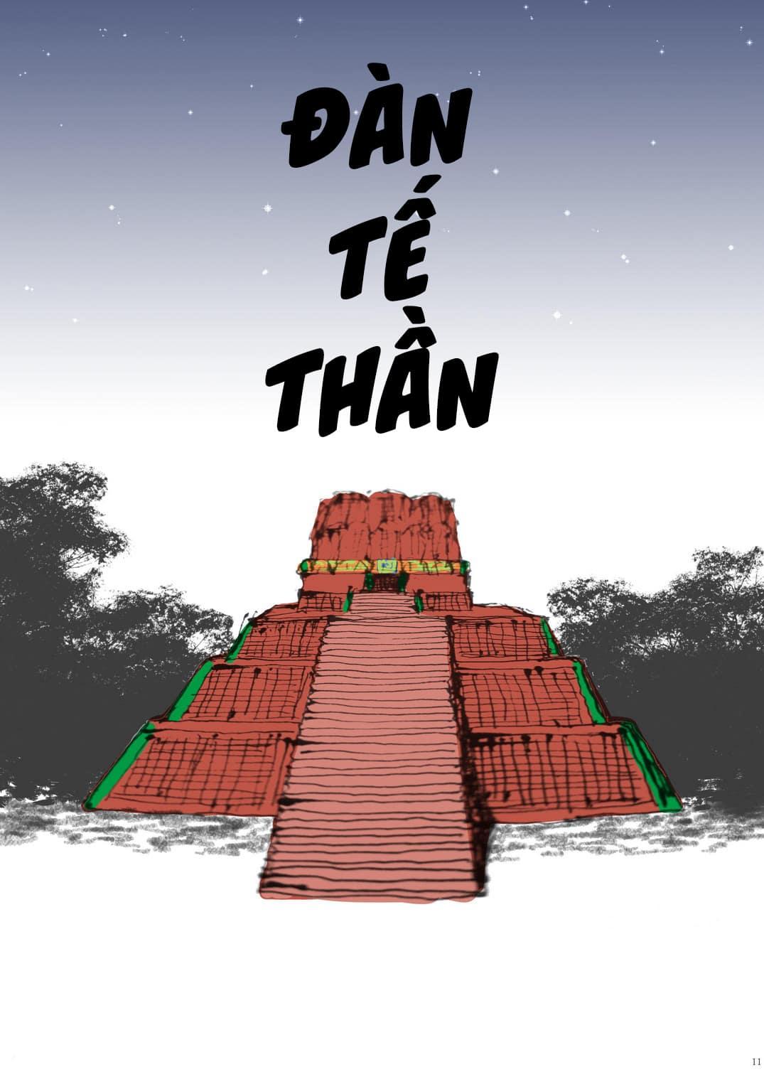[Goma Saba] LỄ HIẾN TẾ HOAN LẠC - Tác giả Goma Saba - Trang 11