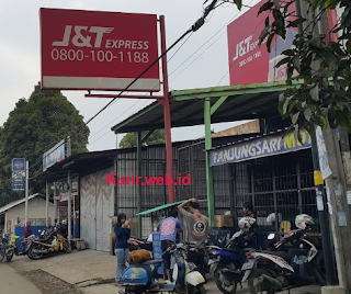 Alamat agen J&T Express di Sumedang.