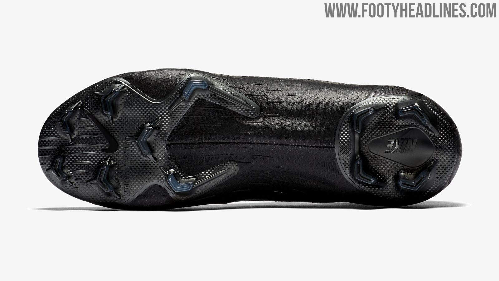 81afd3988 Blackout Nike Mercurial Superfly 360 Stealth Ops Boots Released ...