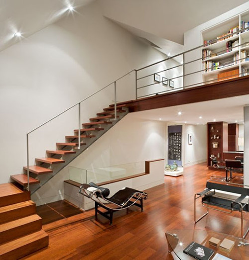 thi công sàn gác lửng đẹp cho không gian nhà nhỏ