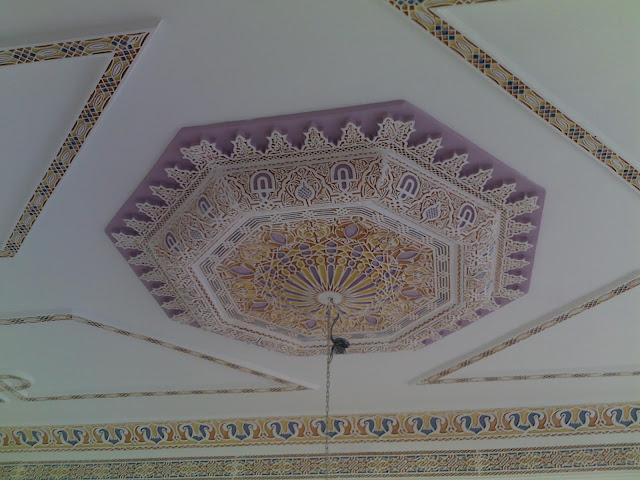 Décoration Marocaine Fleur plâtre