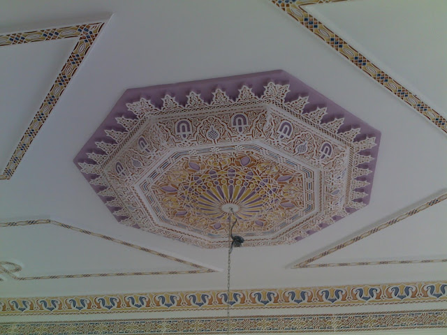 Décor marocain de gypse