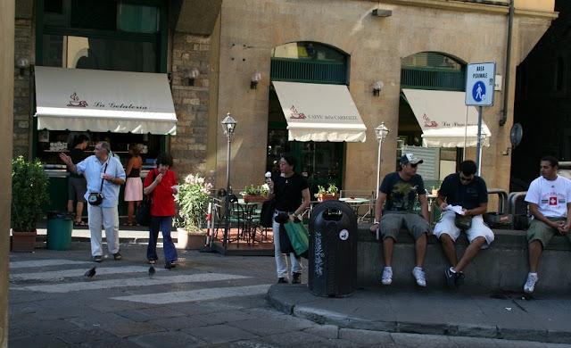 Caffe delle carrozze em Florença