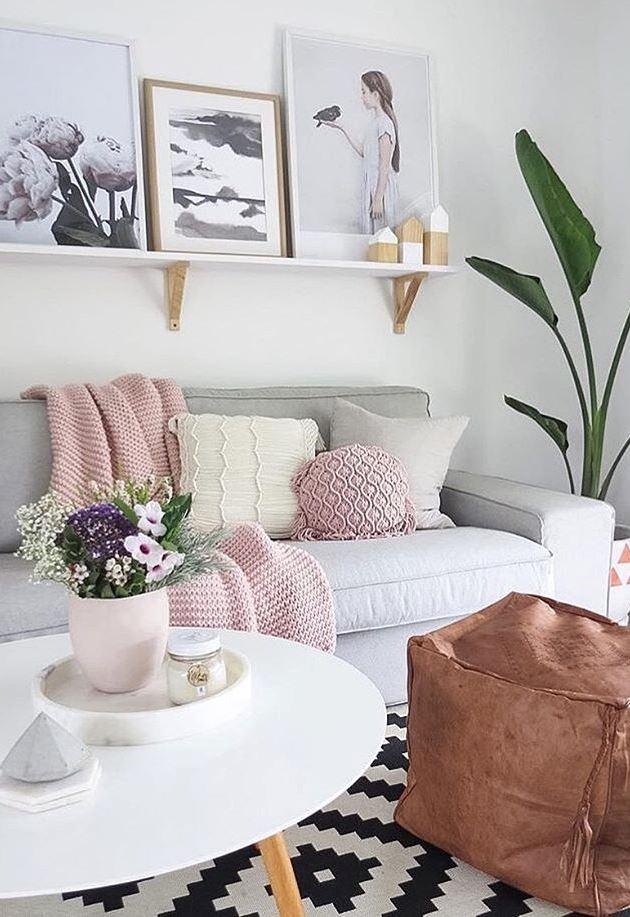 cute pastel home design idea