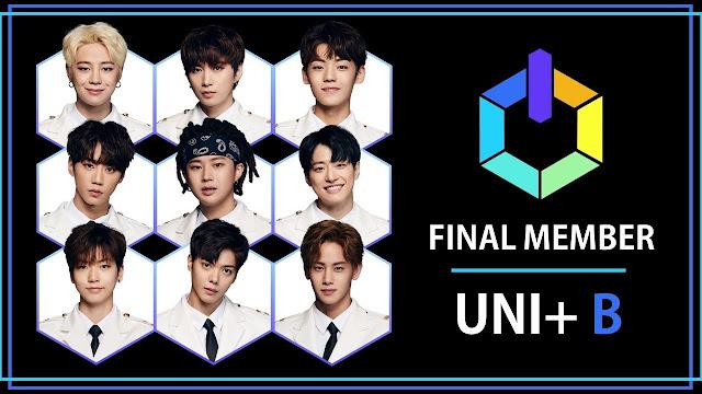 debut unb unit b sense 유엔비 miembros members