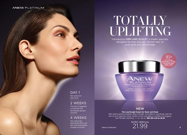 Shop Anew Platinum Firm and Sculpt Cream for Neck and Chest at $38.00