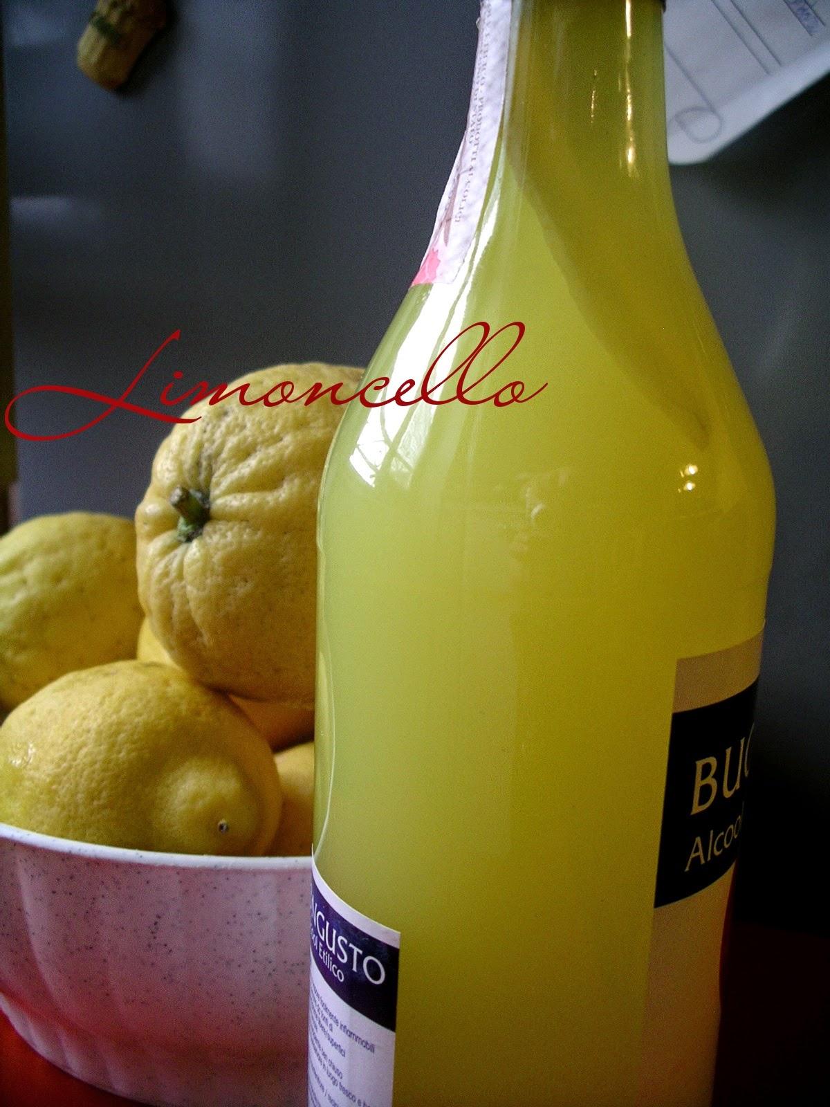 alcool liquore digestivo limoni agrumi