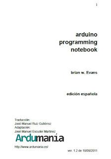 Libro Arduino PDF: Arduino Programing Notebook Español