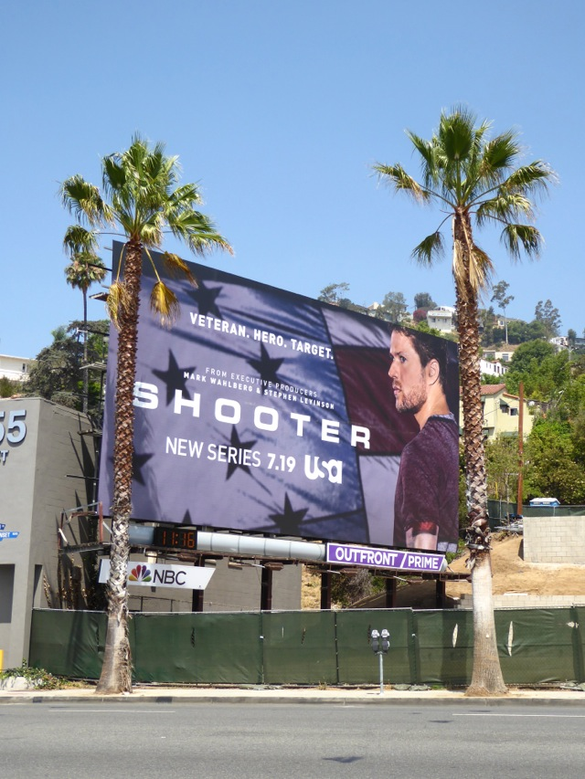 Shooter series premiere billboard