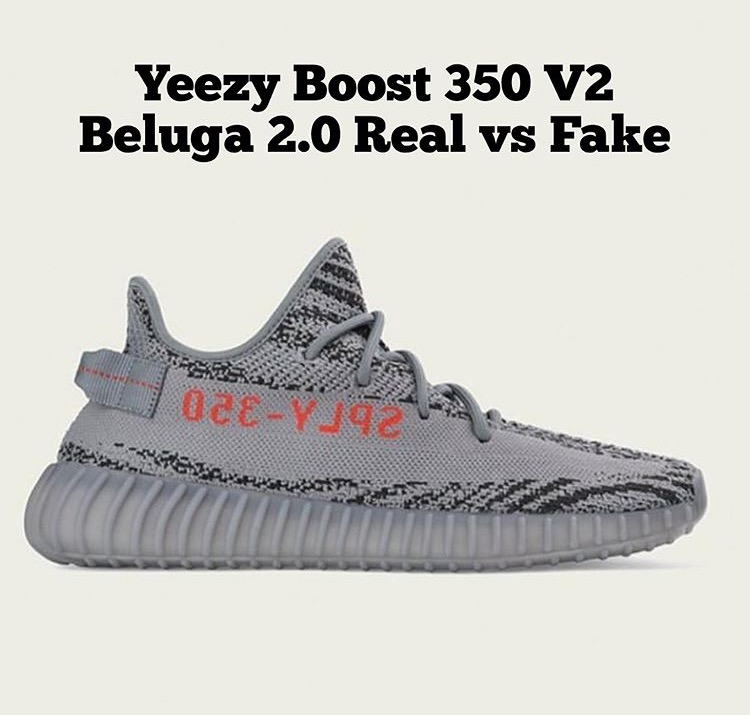 "e2e799045 ... Yeezy Boost 350 V2 Bred Fake Replica Review 4K  In this ""How to spot a  fake.."" review I will explain how ..."
