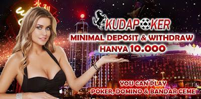 Salah satu pilihan untuk bermain judi online poker dengan kondusif dan nyaman ada di situs  KUDAPOKER Situs poker domino capsa ceme terbaik