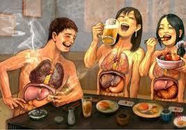 Mala alimentacion en exceso