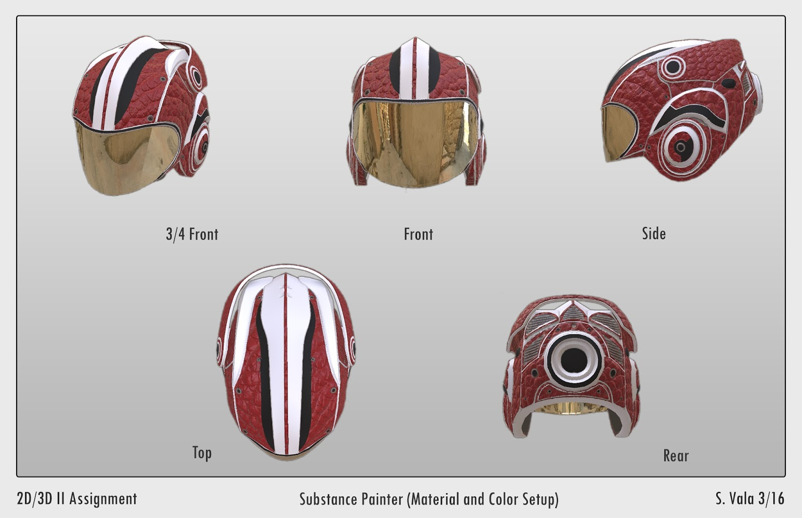 Substance Painter (Class: 2D/3D II) - Florida Interactive