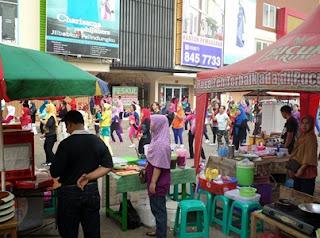 Pasar Bersih Galuh Mas Berbeda Dengan Pasar Lain, Pasar Bersih Galuh Mas, Galuh Mas