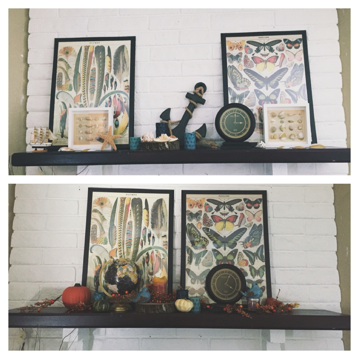 Living Room: Summer To Fall Decor