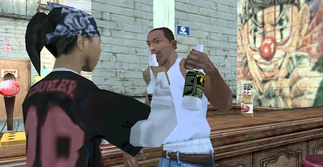 Carl Johnson and Denise dating in Gta San Andreas