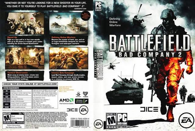 تحميل لعبه Battlefield Bad Company 2 للكمبيوتر من ميديا فاير