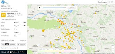 Stacja monitorująca jakość powietrza w Lesznie