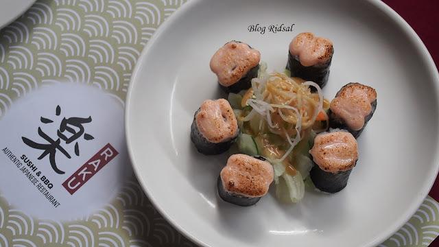 Raku Sushi, Kuliner Jepang dan Medan #08
