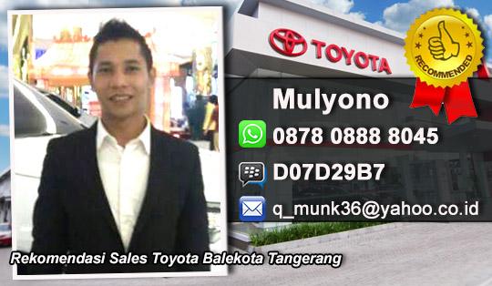 Rekomendasi Sales Toyota Balekota Tangerang