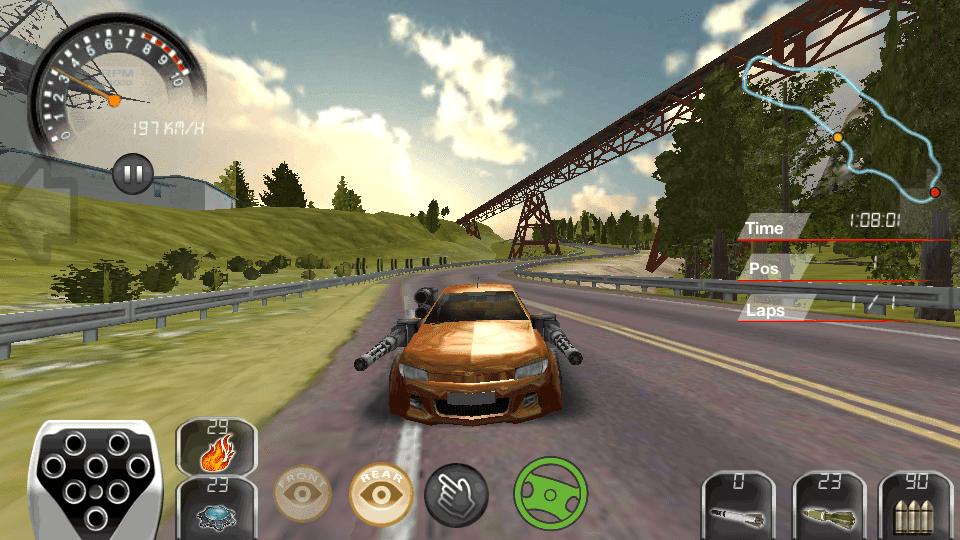 لعبة سيارات سباق تدعم اللعب شراكة باتصال بلوتوث او ويفي بدون
