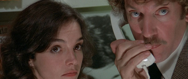Donald Sutherland and Brooke Adams in Invasion of the Body Snatchers