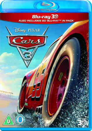 Cars 3 2017 BRRip 350MB Hindi Dubbed Dual Audio 480p Watch Online Full Movie Download bolly4u