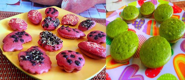 Resep Sederhana Kue Cubit Green Tea dan Red Velvet