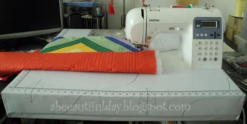 Cardboard Extension for Sewing Machine Tutorial