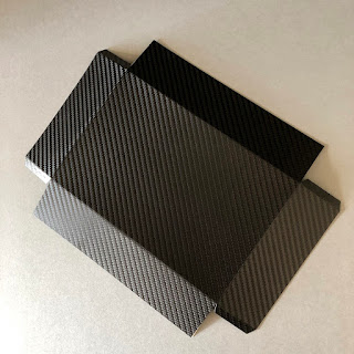 Make your own 3D Cardstock Lightbox - Using Silhouette Carbon Fibre Vinyl - by Janet Packer https://craftingquine.blogspot.co.uk for GraphtecGB Silhouette UK Blog.