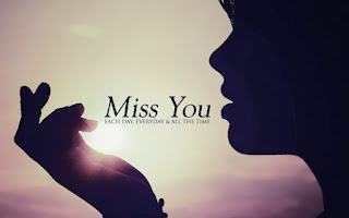 I miss you each day everyday & all the time quote pic