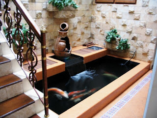 The latest fish pond design minimalist house