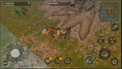 Jurassic Survival v1.1.21 MOD APK Terbaru (Unlimited Money Crafting and Split Items) - JemberSantri