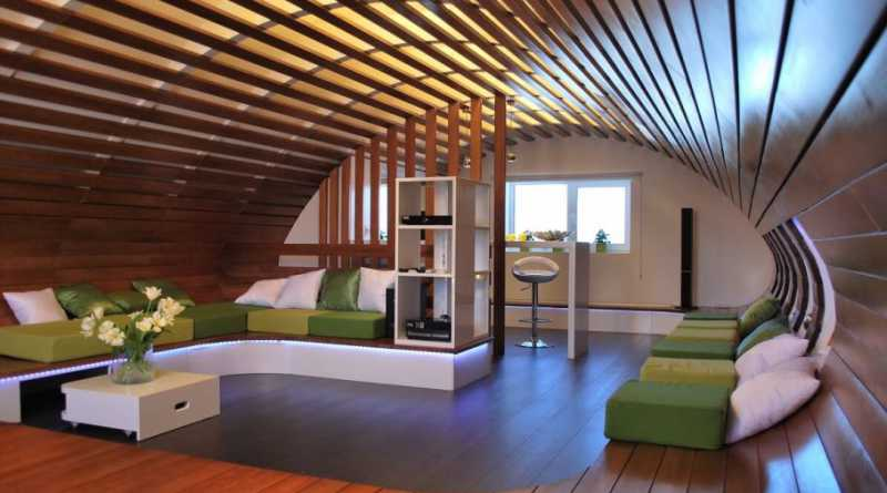 how to utilize house attic moreover if you have spacious attic and can be converted into a comfortable bedroom when you want to get rest - Attic Design Ideas