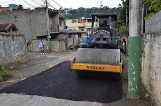 Algumas Vias públicas de Teresópolis recebem manutenção