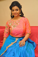Nithya Shetty in Orange Choli at Kalamandir Foundation 7th anniversary Celebrations ~  Actress Galleries 101.JPG